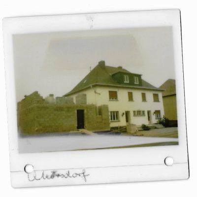 Hotel Landhaus Mörsdorf, der Anfang