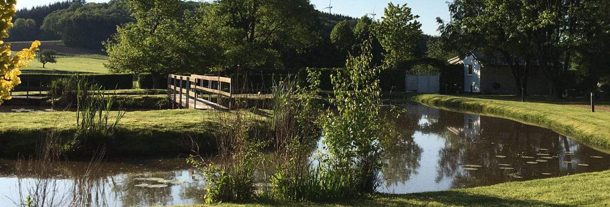 Hotel Landhaus Mörsdorf am Bostalsee im Frühjahr